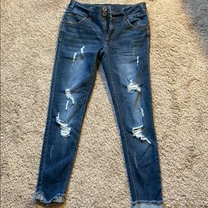 Rue21 ankle skinny jeans
